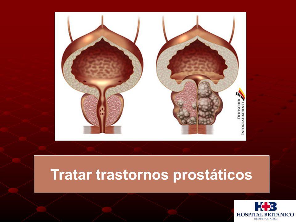 Tratar trastornos prostáticos
