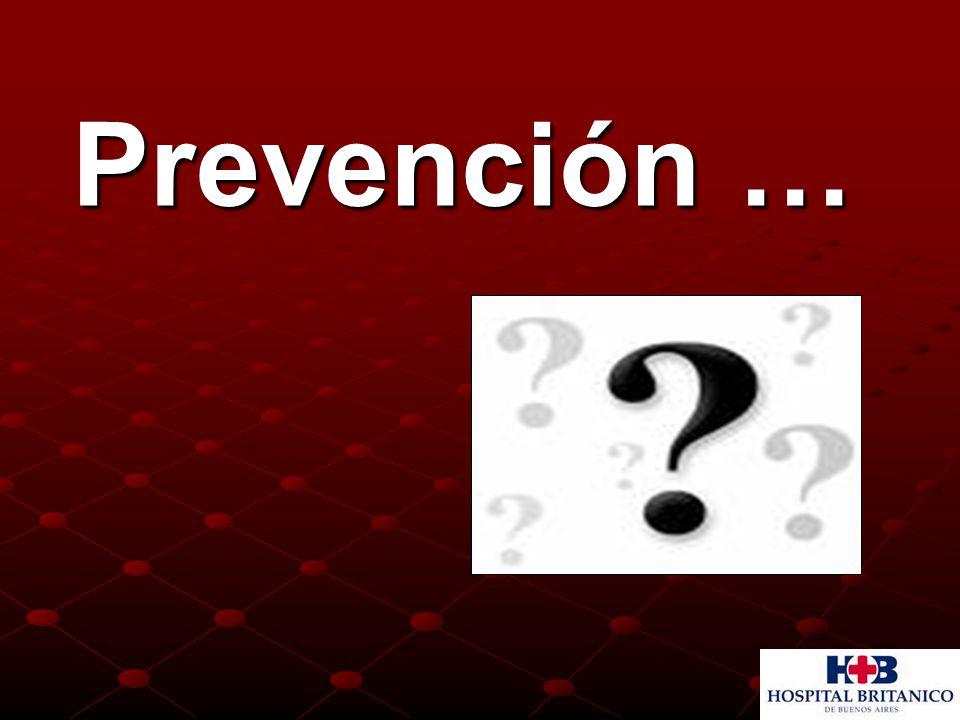 Prevención … Prevención …