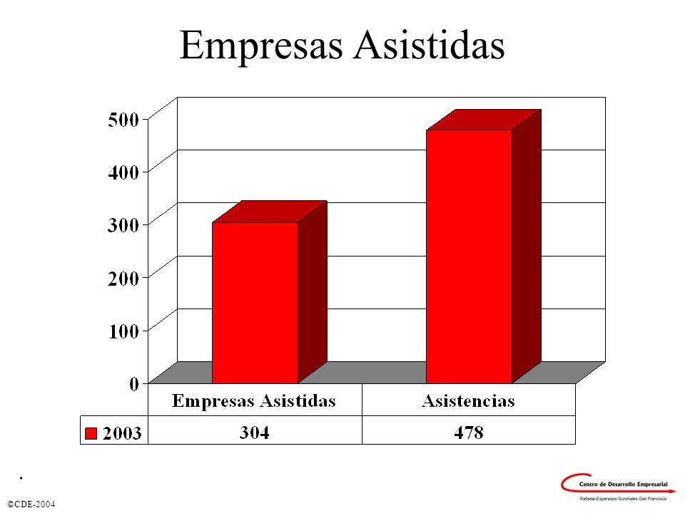 ©CDE-2004 Empresas Asistidas.