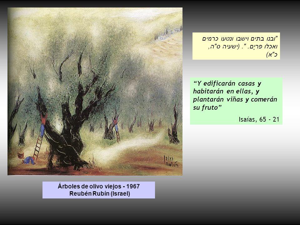 El gran pino Paul Cezanne (Francia ) El hombre es como un árbol.
