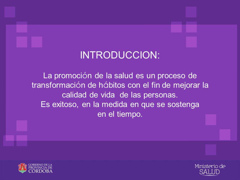 SUBPROGRAMA DE PROMOCIÓN DE LA HEMODONACIÓN PROVINCIA DE CORDOBA DEPARTAMENTO DEL SISTEMA PROVINCIAL DE SANGRE ROSARIO DE SANTA FE 374 – OF.