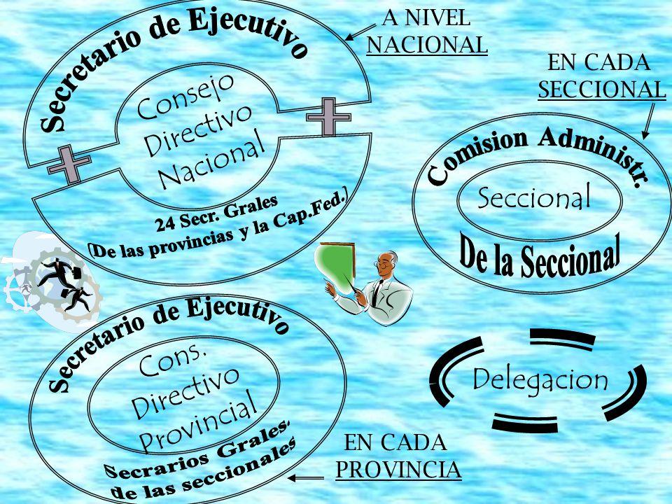 Características Comunes de los Delegados Representan y defienden los intereses (igualitariamente) Conviven con el grupo que representan Toman contacto directo con los problemas prácticos Diferentes Tipos Delegados Generales (todos en la empresa) Delegados de Sector, Departamento u Oficinas Delegados Suplentes o Subdelegados