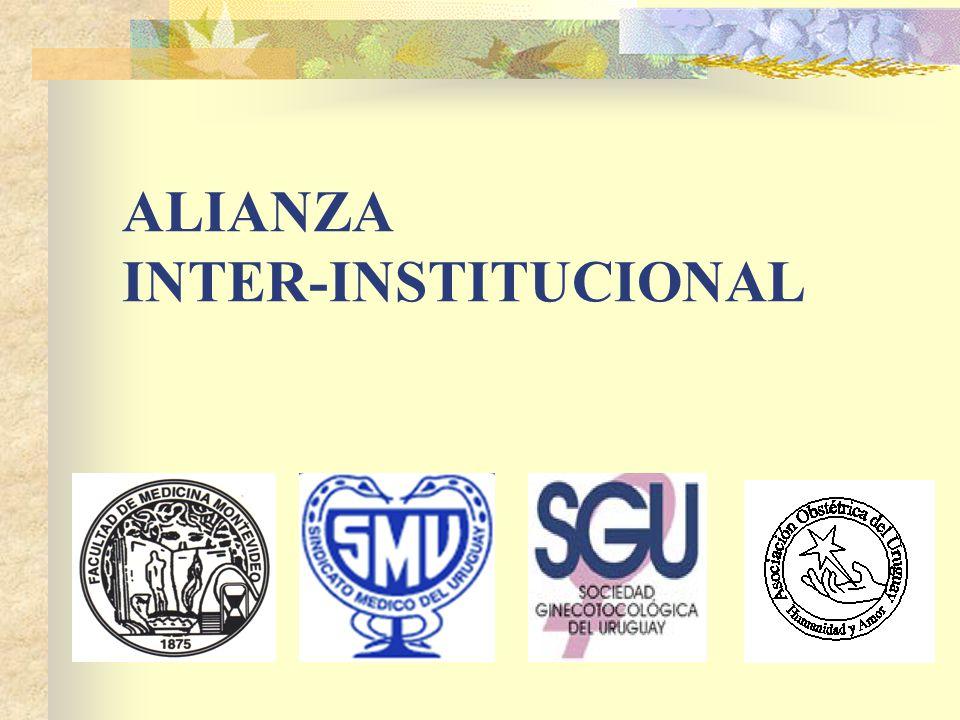 ALIANZA INTER-INSTITUCIONAL