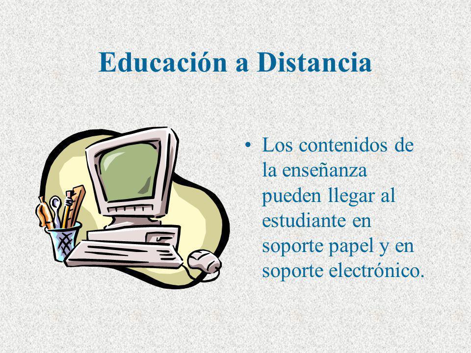 Componentes de un Programa de Educación a Distancia Materiales Tutores Evaluación Administración