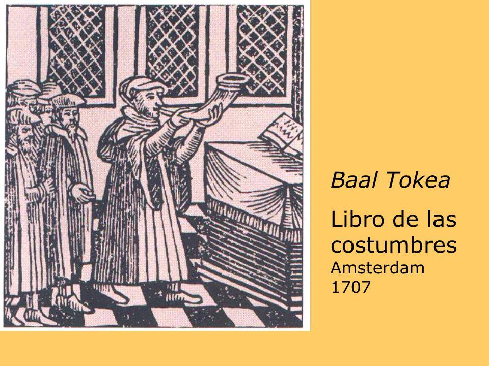 Baal Tokea Libro de las costumbres Amsterdam 1707