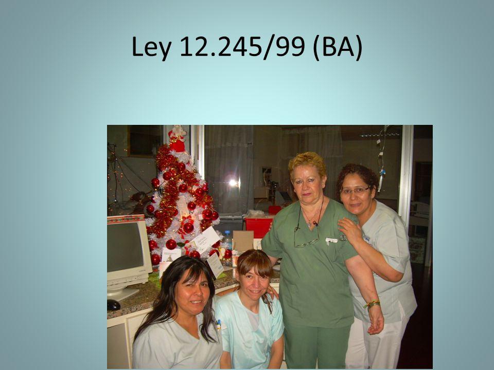 Ley 12.245/99 (BA)