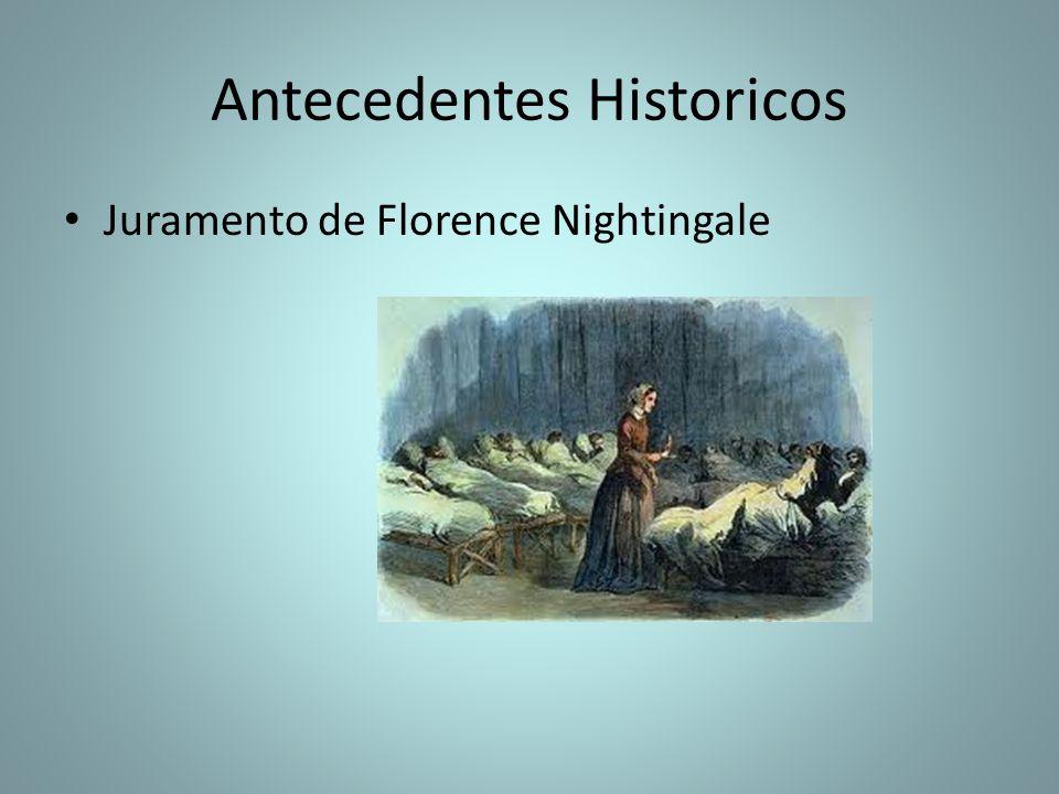 Antecedentes Historicos Juramento de Florence Nightingale