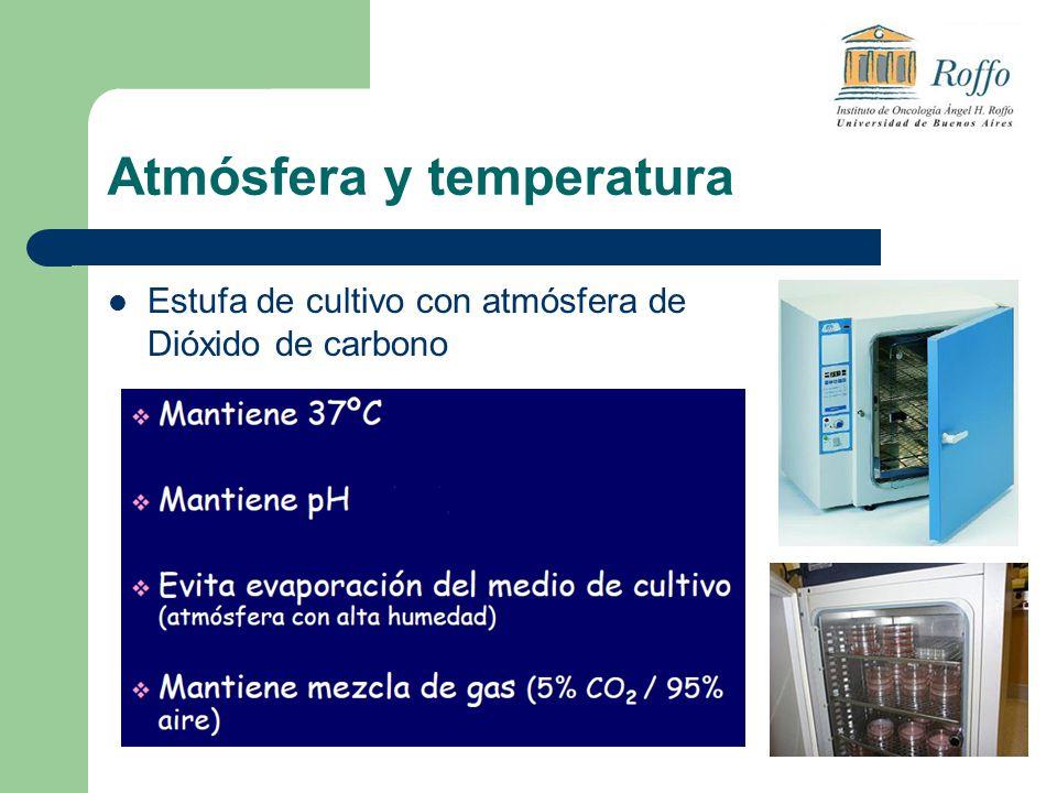 Atmósfera y temperatura Estufa de cultivo con atmósfera de Dióxido de carbono