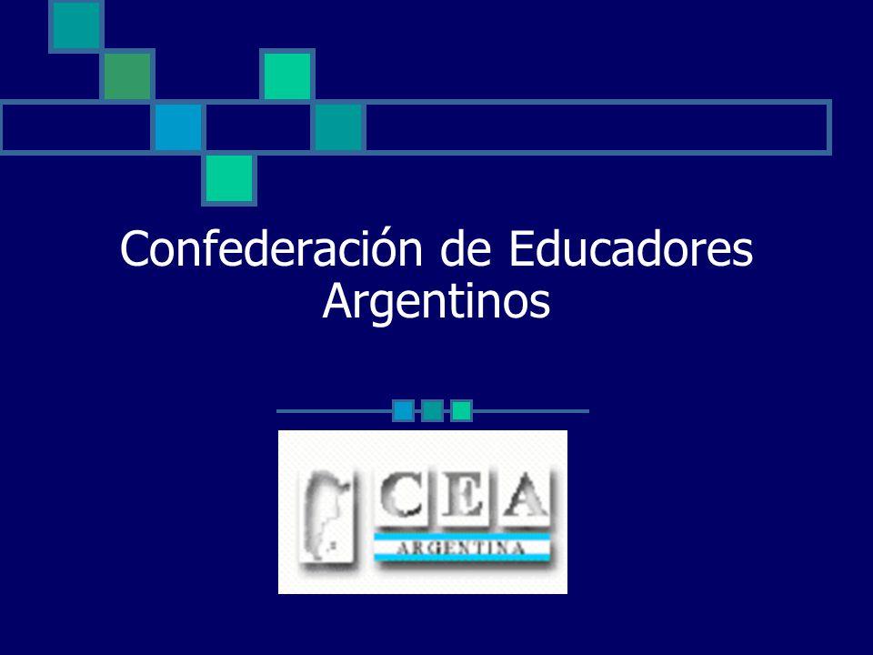 La CEA es una organización de 3º grado.Está conformada por organizaciones de 1º y 2º grado.
