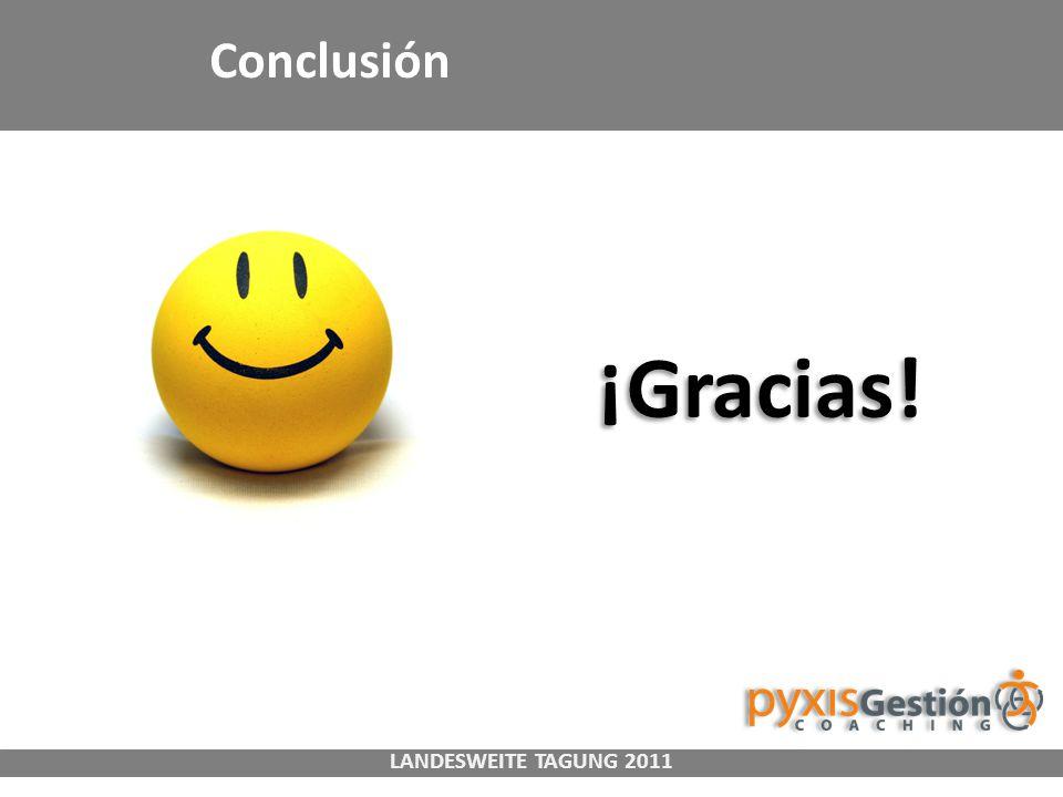 LANDESWEITE TAGUNG 2011 Conclusión