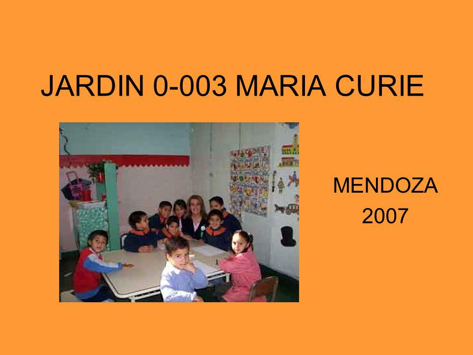 JARDIN 0-003 MARIA CURIE MENDOZA 2007