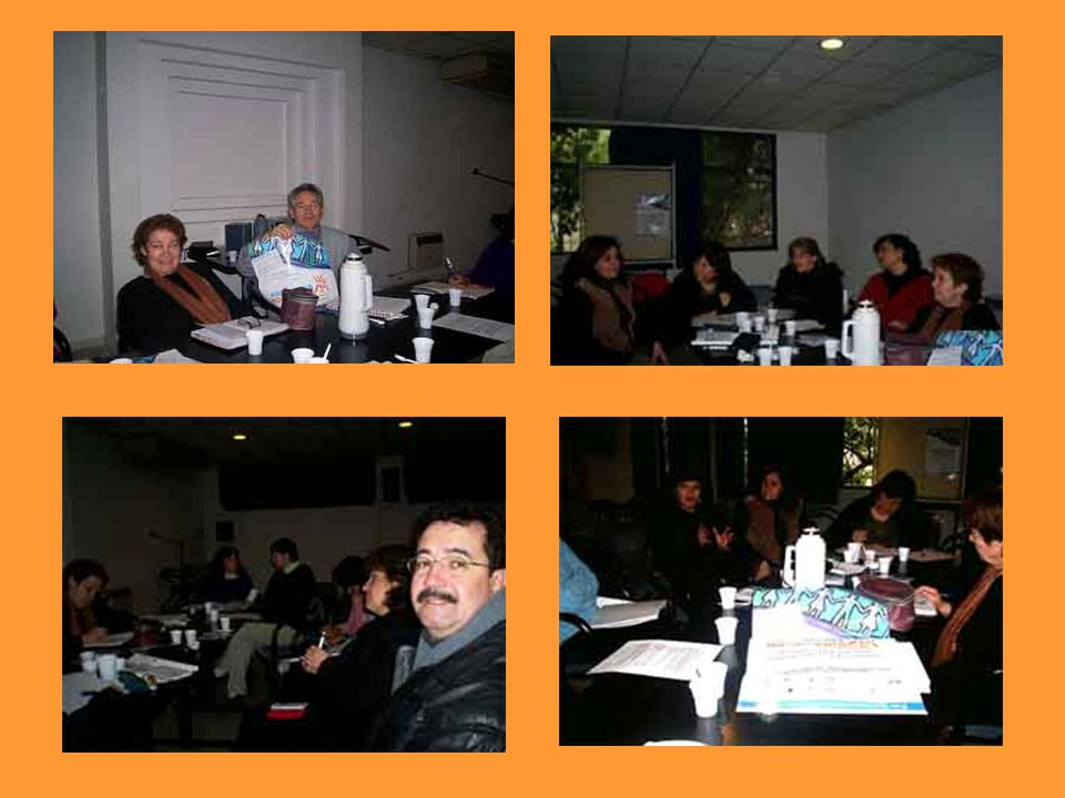 Reunión Pre Foro Nacional en Mendoza Referentes: Daniel Robaldo y Andrea FitipaldiLa Comunidad para el Desarrollo Humano.