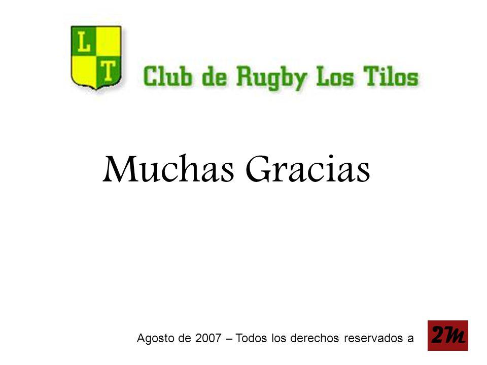 Muchas Gracias Agosto de 2007 – Todos los derechos reservados a