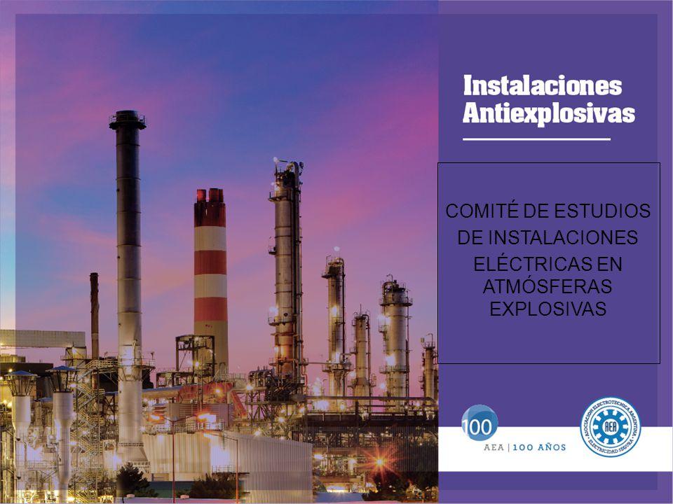 COMITÉ DE ESTUDIOS DE INSTALACIONES ELÉCTRICAS EN ATMÓSFERAS EXPLOSIVAS