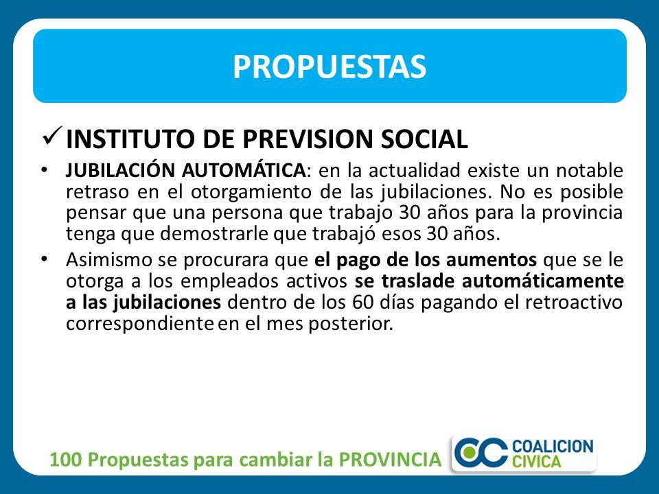 INSTITUTO DE PREVISION SOCIAL JUBILACIÓN AUTOMÁTICA: en la actualidad existe un notable retraso en el otorgamiento de las jubilaciones.