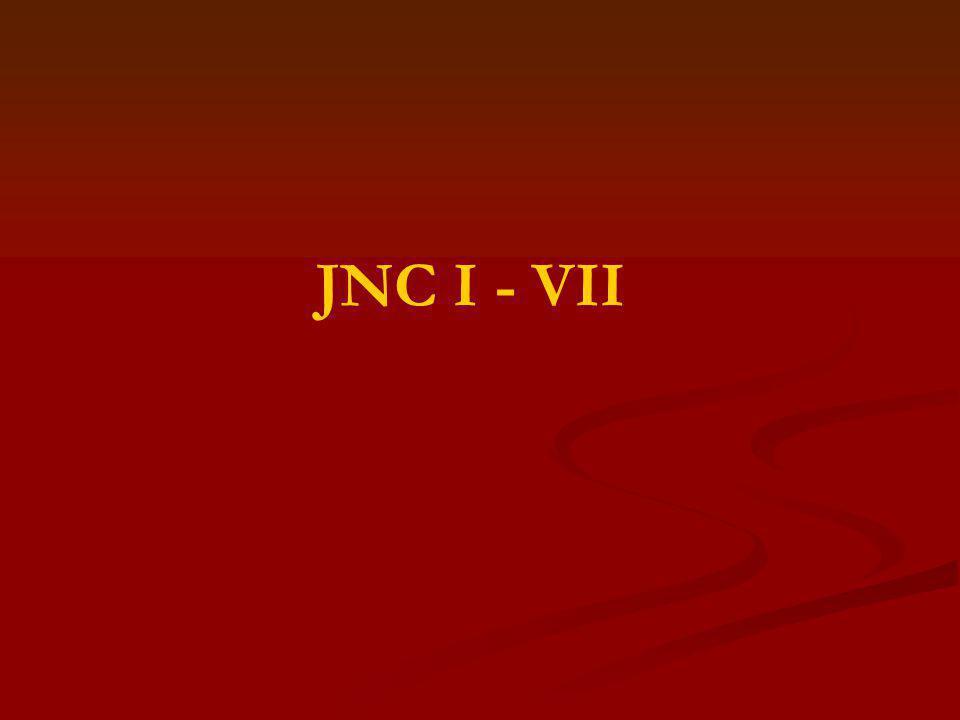JNC I - VII