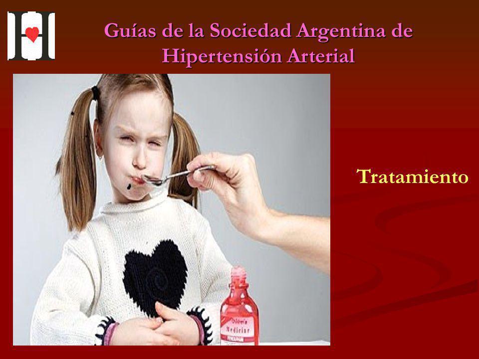 Guías de la Sociedad Argentina de Hipertensión Arterial Tratamiento