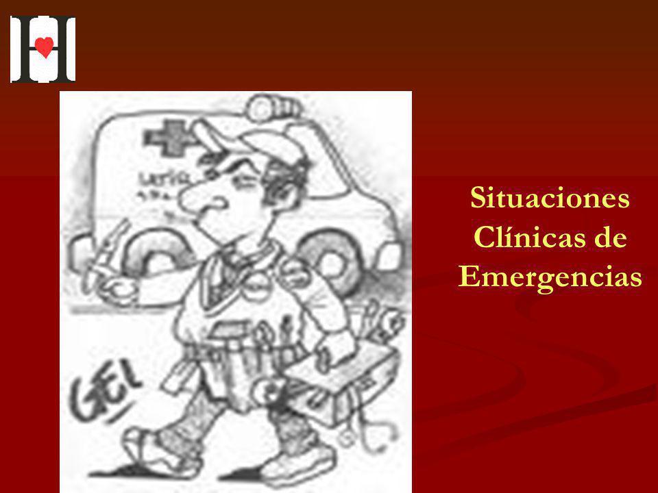 Situaciones Clínicas de Emergencias