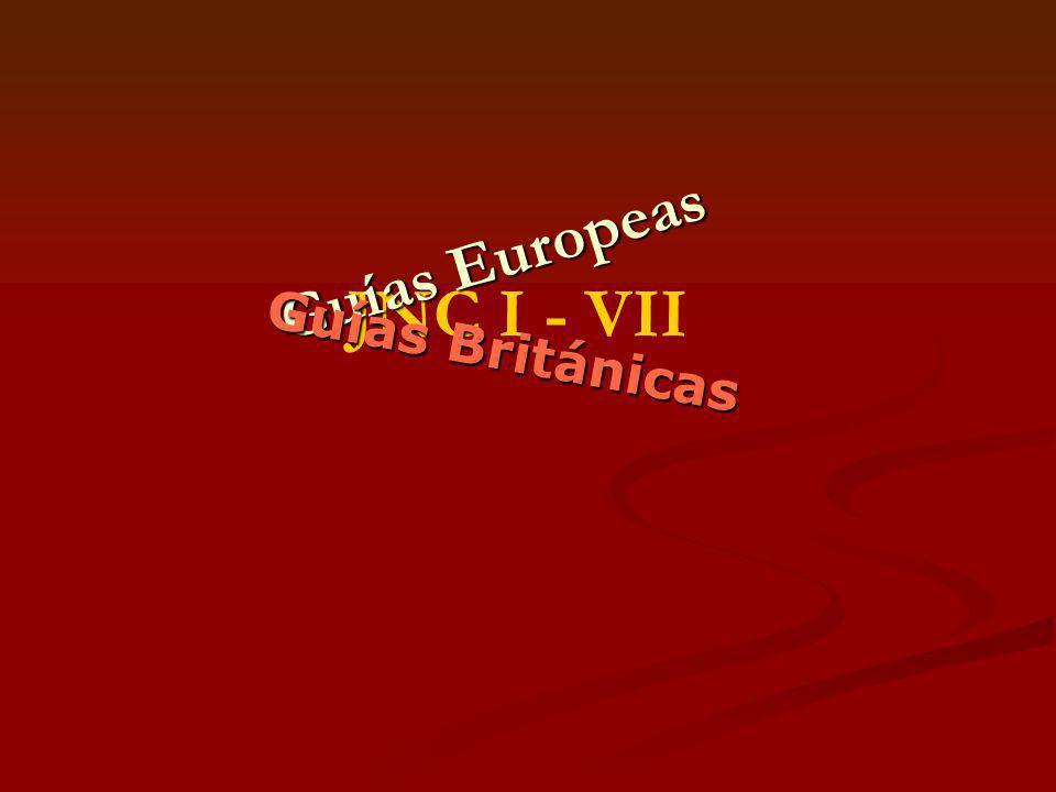 JNC I - VII Guías Europeas Guías Británicas