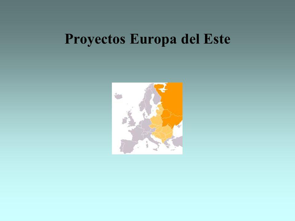 Proyectos Europa del Este