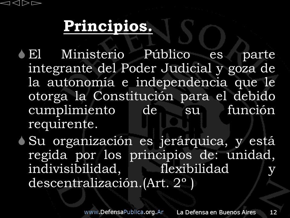 www.DefensaPublica.org.Ar La Defensa en Buenos Aires12 Principios.