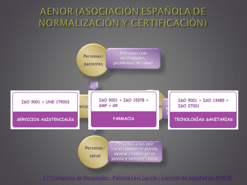 Organización sanitaria Personas/pacientes Producción Personas/salud Personas con necesidades, problemas de salud Servicios profesionales MedicamentosT