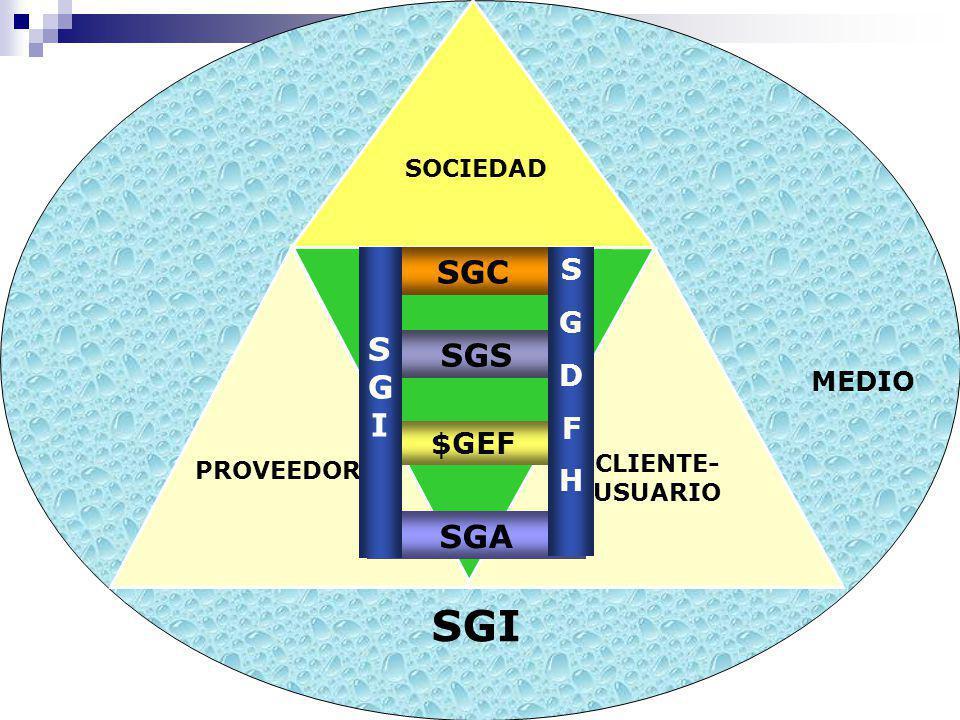 M.R.Bay, A.F.Iglesias & R.R. Pittaluga y cols. DR02-01- SGIeI Delta Q-F.A. y R.R. Pittaluga SOCIEDAD MEDIO SGI PROVEEDOR CLIENTE- USUARIO SOCIEDAD SGC