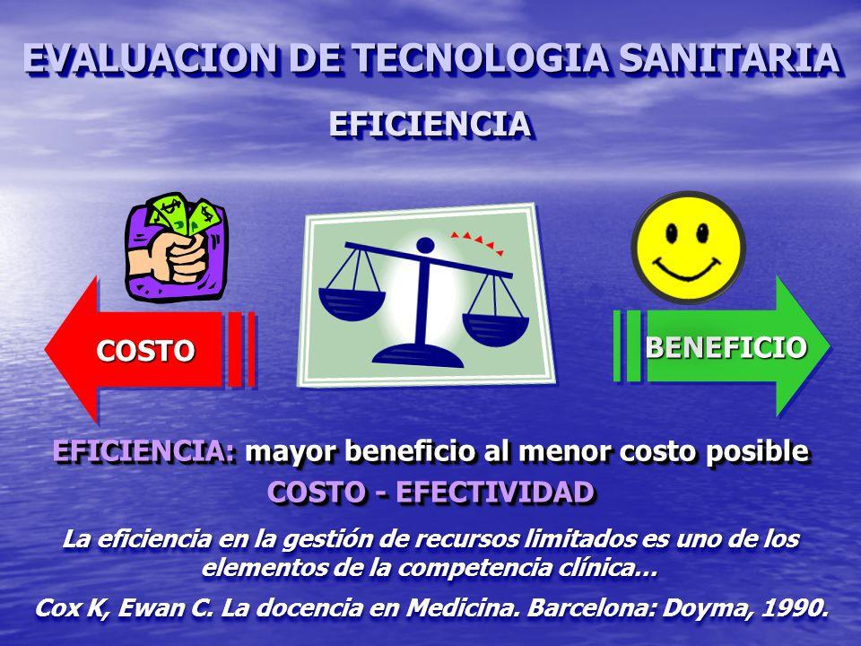Cox K, Ewan C.La docencia en Medicina. Barcelona: Doyma, 1990.