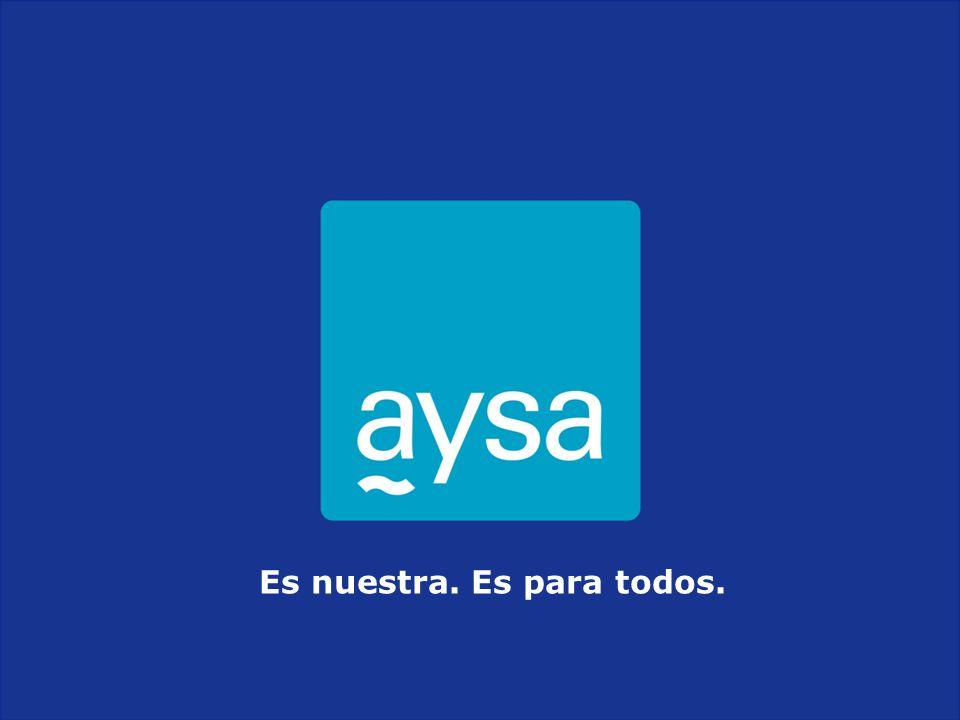 I Jornada Red de Laboratorios de Agua y Saneamiento - RELAS - Noviembre 2011 Es nuestra.