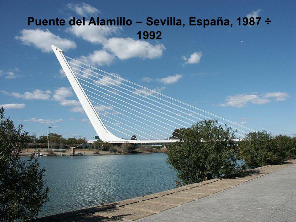Santiago Calatrava He aquí algunas de sus obras. Nacido en 1951 en Valencia. Estudió arte y arquitectura en la Ia Escuela Técnica Superior de Arquitec