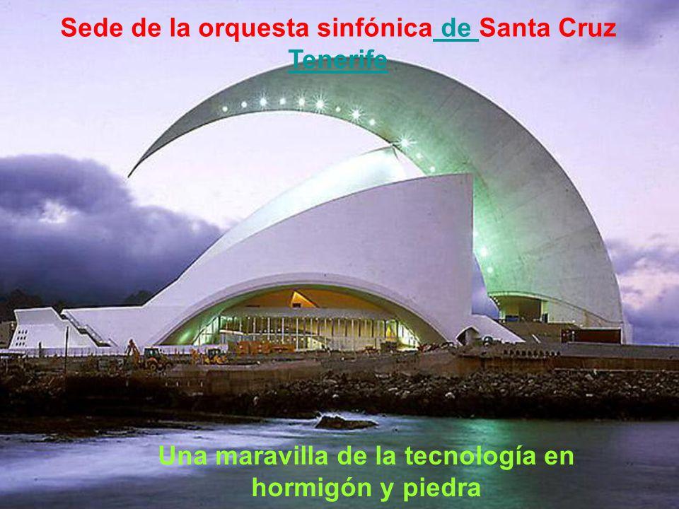 Sede de la orquesta sinfónica de Santa Cruz Tenerife, España, 1991 ÷ 2003 de Tenerife