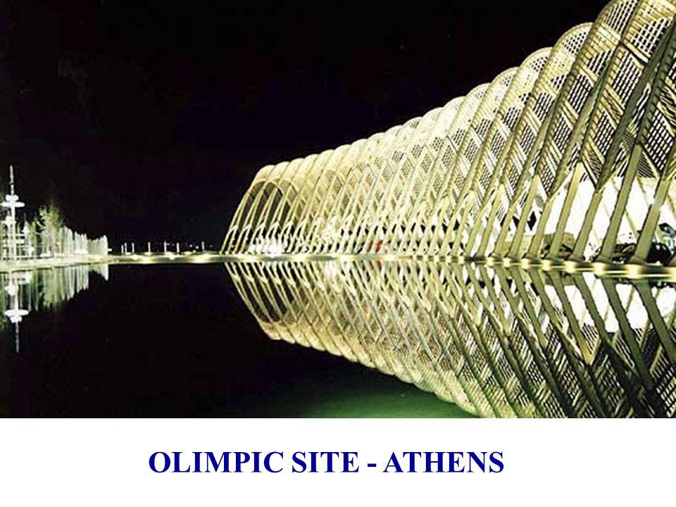 Atenas, plaza de las naciones - 2004