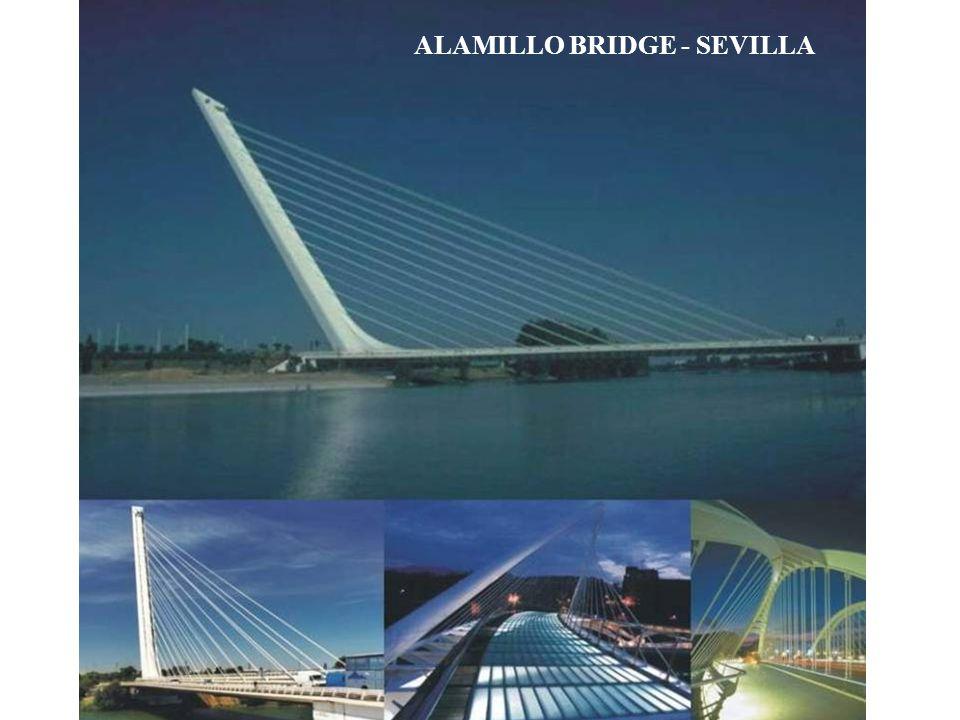 Puente del Alamillo – Sevilla, España, 1987 ÷ 1992