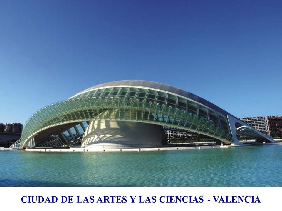 Museo de las artes y las ciencias de Valencia, España, 1995 ÷ 2005