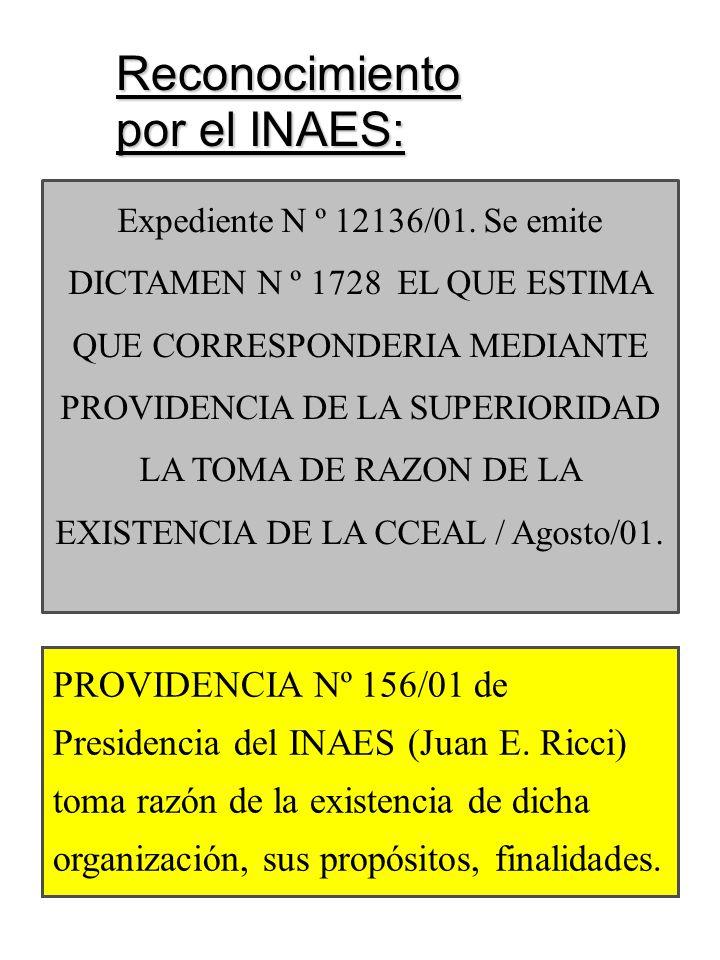Expediente N º 12136/01.