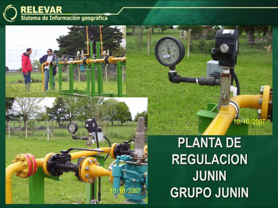 PLANTA DE REGULACION JUNIN GRUPO JUNIN