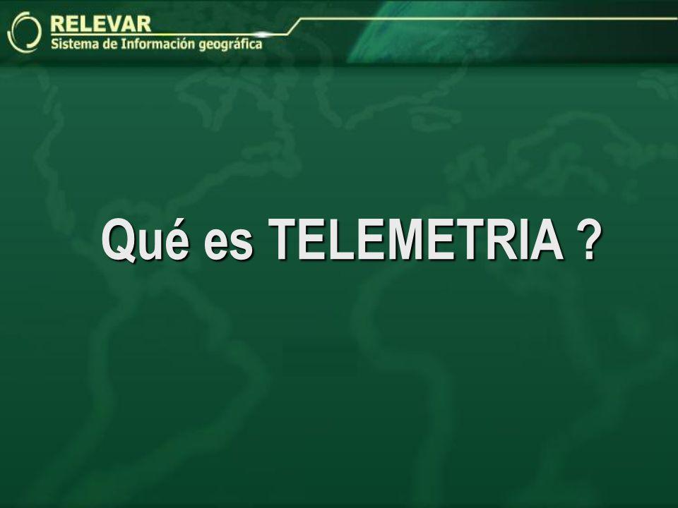 Qué es TELEMETRIA ?