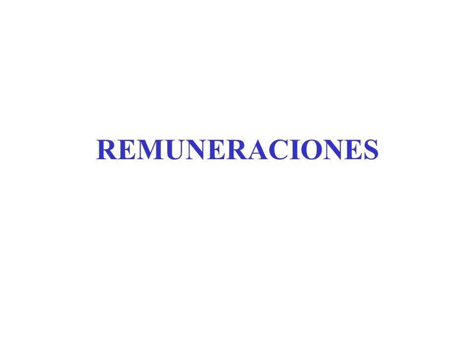 PRESTACIONES COMPLEMENTARIAS SEAN EN DINERO O EN ESPECIE, INTEGRAN LA REMUNERACION DEL TRABAJADOR CON LAS SIGUIENTES EXCEPCIONES RETIROS DE SOCIOS GERENTES S.R.L.