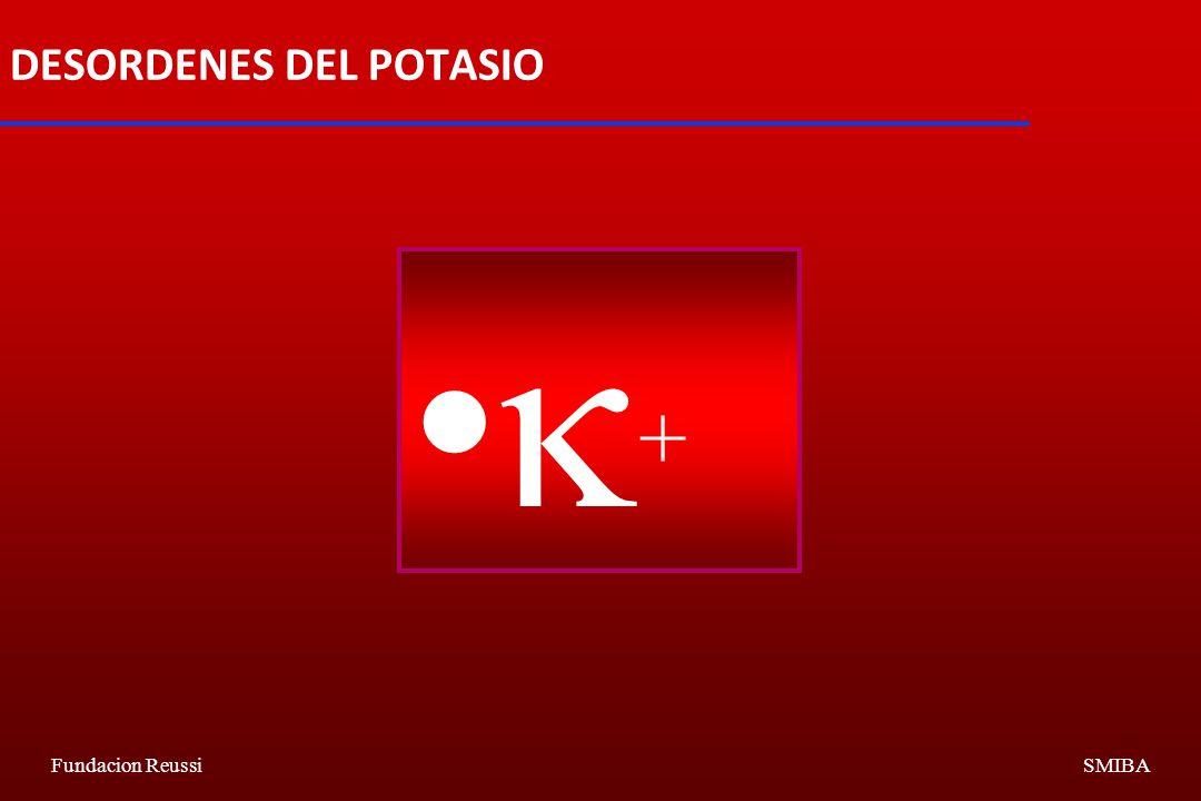Fundacion ReussiSMIBA DESORDENES DEL POTASIO +