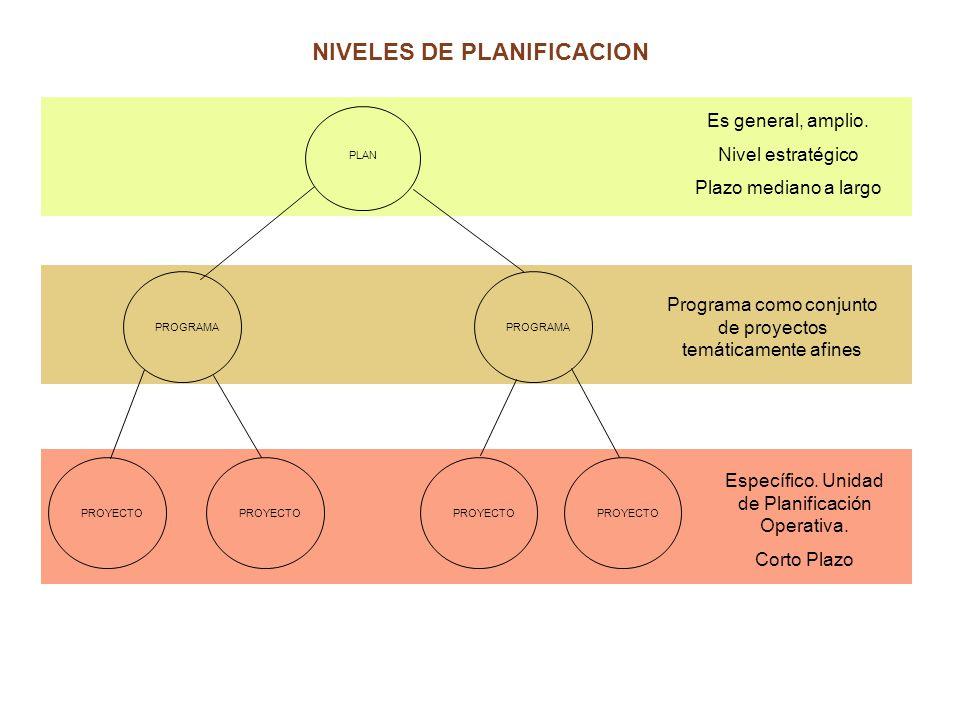 RELACION ENTRE ESTRATEGIAS Y PROYECTOS E1 E2 E3 E4 P1P2 P3P4 P5 Programa A Programa B