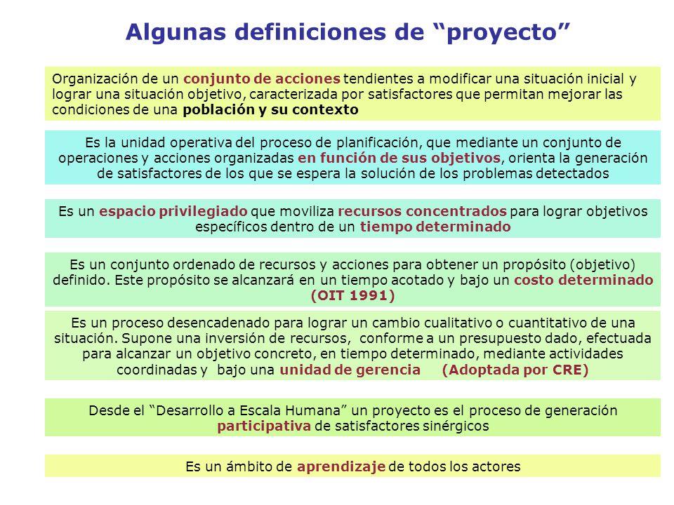 EL OBJETIVO GENERAL O PROPÓSITO Es la descripción acotada de la situación que se logrará al finalizar el proyecto, o de los satisfactores con que se contará luego del mismo.