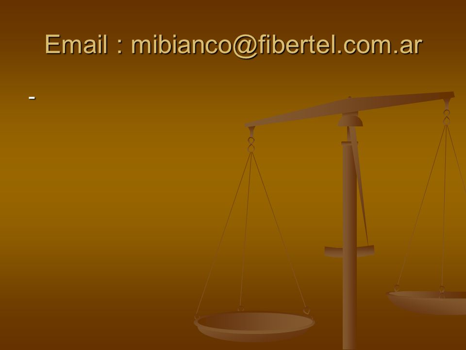 Email : mibianco@fibertel.com.ar -
