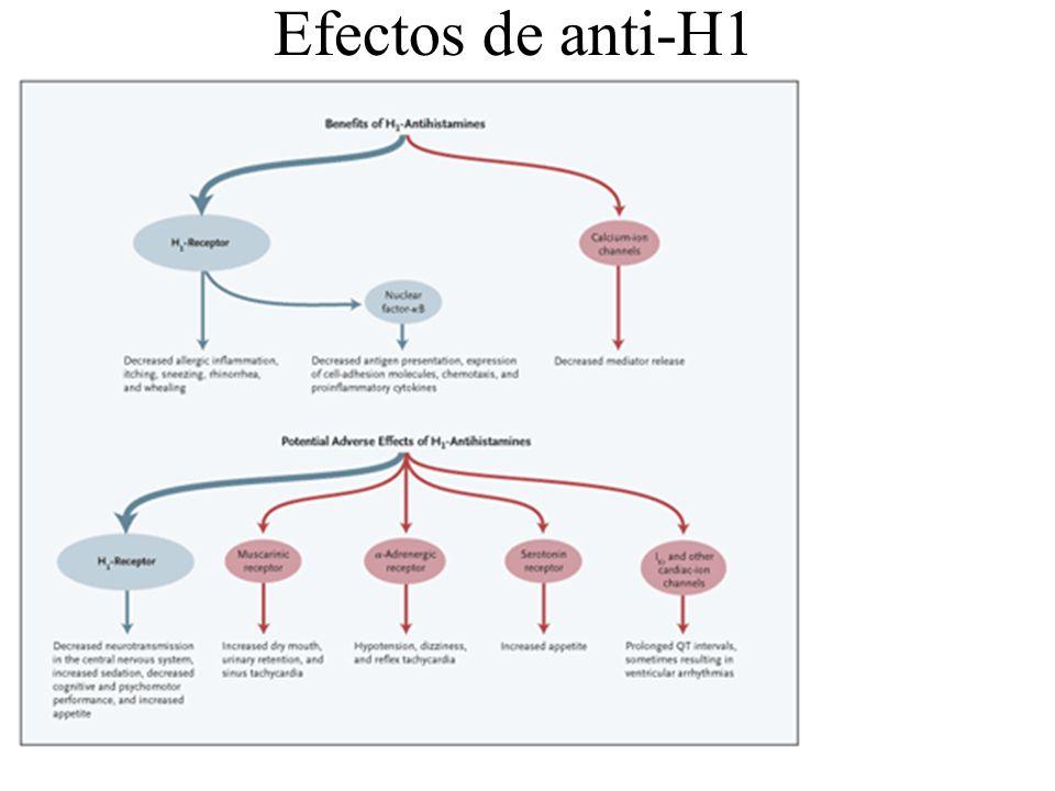 Efectos de anti-H1