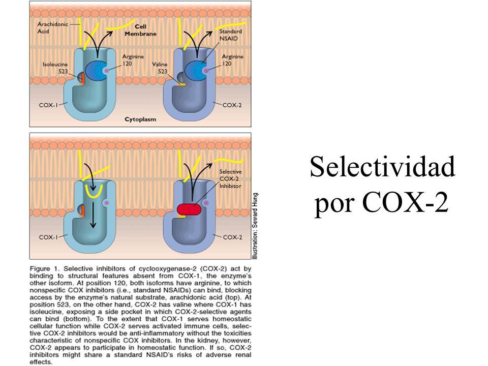 Selectividad por COX-2