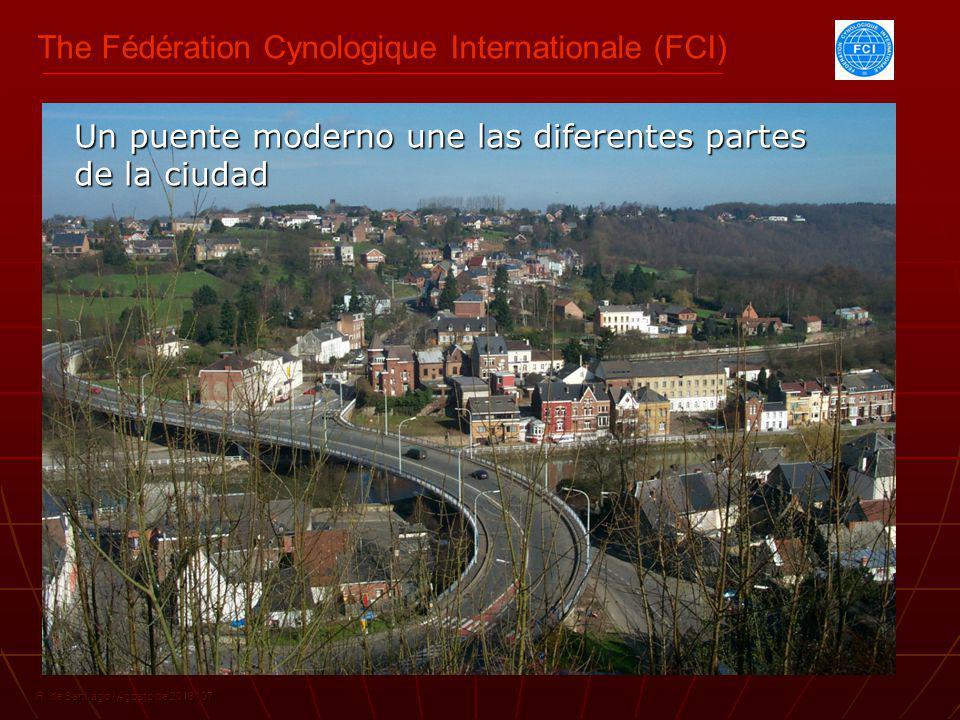 The Fédération Cynologique Internationale (FCI) R. de Santiago / Agosto de 2013 / 07 Un puente moderno une las diferentes partes de la ciudad