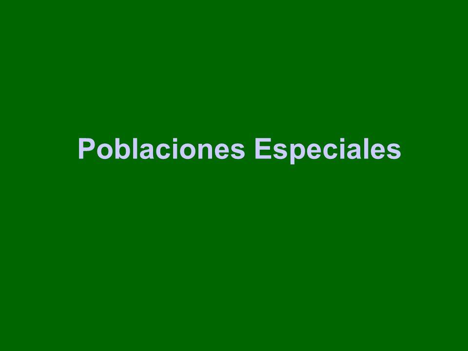 Poblaciones Especiales
