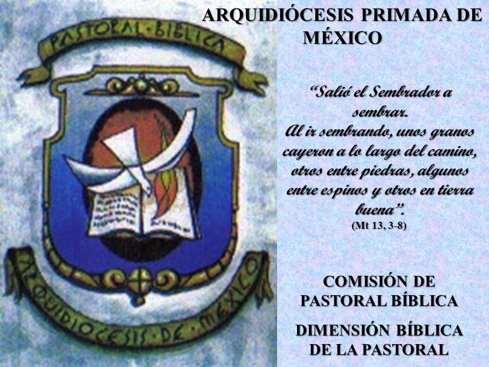 MATERIAL PARA SEMANAS BÍBLICAS 1999: Año del Padre.