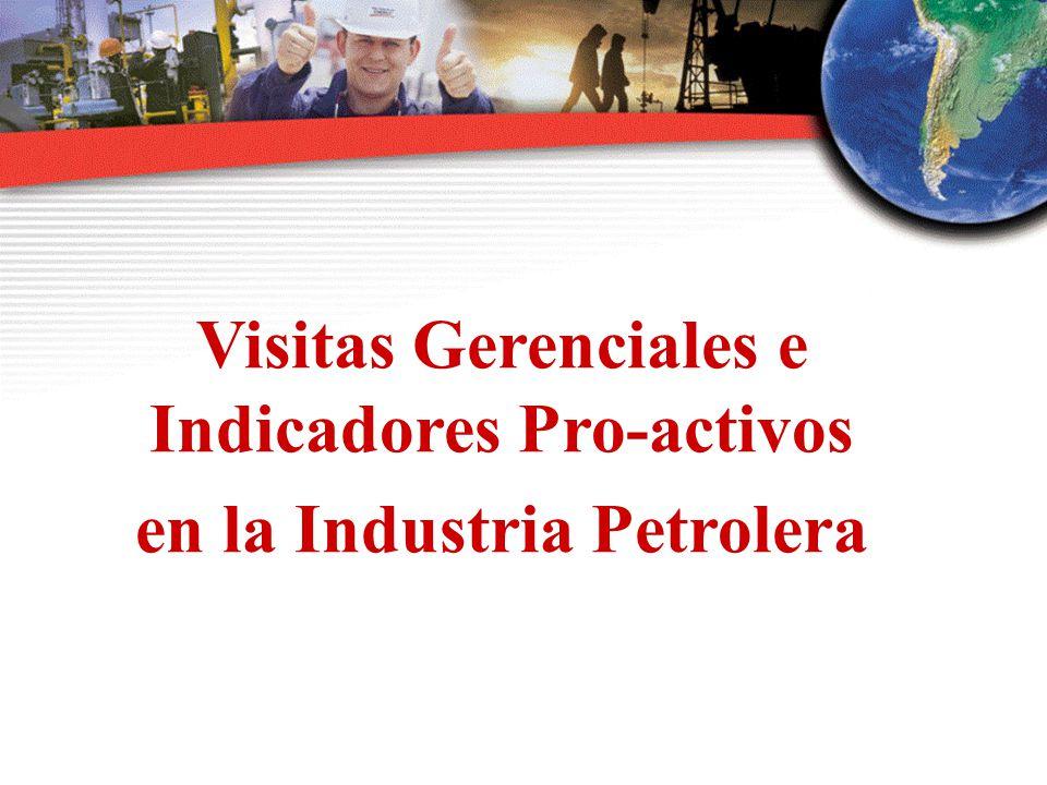 Visitas Gerenciales e Indicadores Pro-activos en la Industria Petrolera