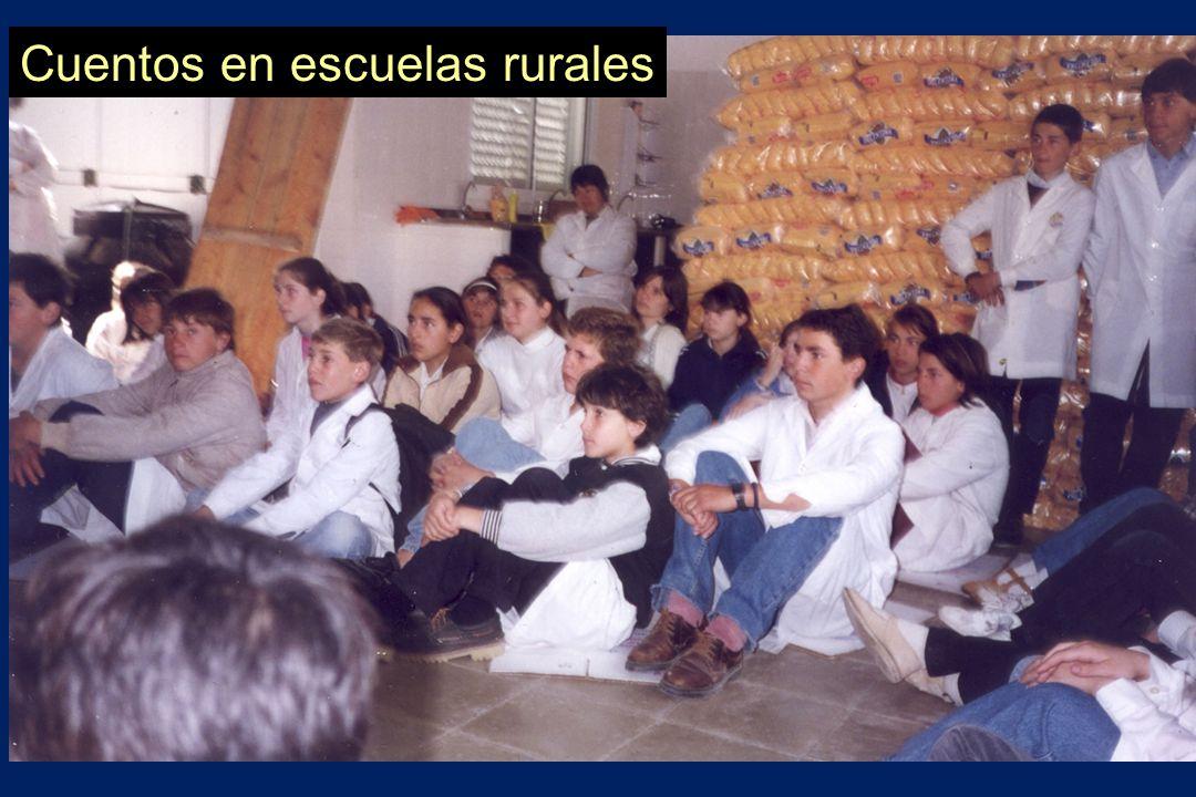 Cuentos en escuelas rurales
