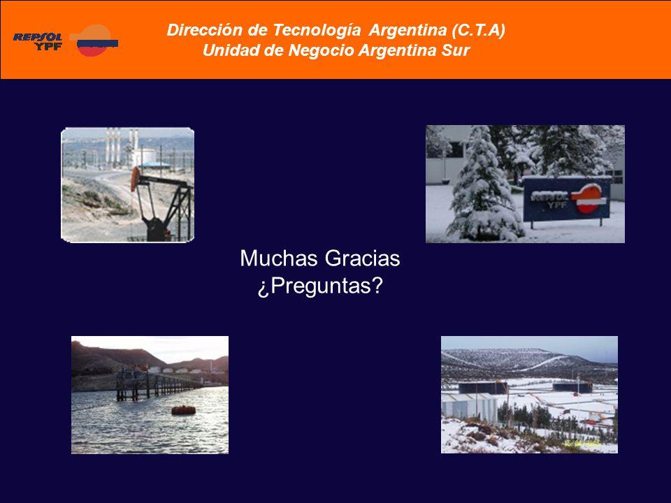 Dirección de Tecnología Argentina (C.T.A) Unidad de Negocio Argentina Sur Muchas Gracias ¿Preguntas?